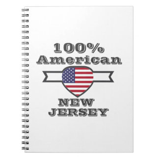 100% American, New Jersey Notebook
