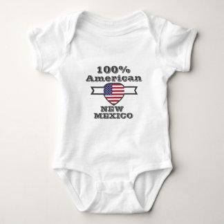 100% American, New Mexico Baby Bodysuit