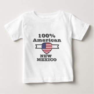 100% American, New Mexico Baby T-Shirt