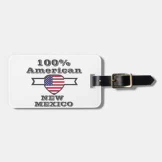 100% American, New Mexico Luggage Tag