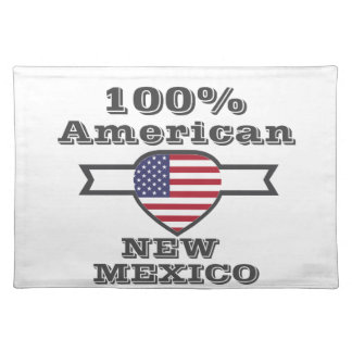 100% American, New Mexico Placemat