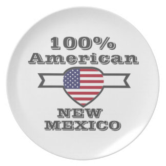 100% American, New Mexico Plate