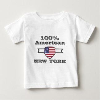 100% American, New York Baby T-Shirt