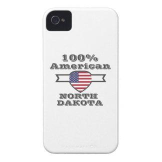 100% American, North Dakota iPhone 4 Case-Mate Case