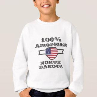 100% American, North Dakota Sweatshirt