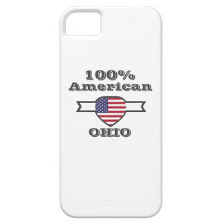 100% American, Ohio iPhone 5 Case
