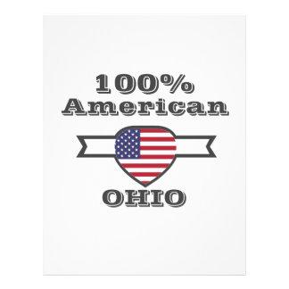 100% American, Ohio Letterhead