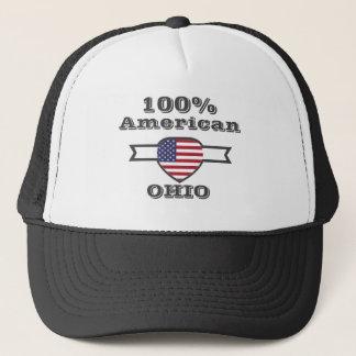 100% American, Ohio Trucker Hat