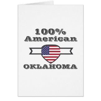 100% American, Oklahoma Card