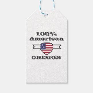 100% American, Oregon Gift Tags