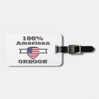 100% American, Oregon Luggage Tag