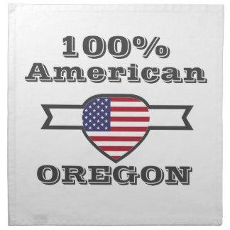 100% American, Oregon Napkin