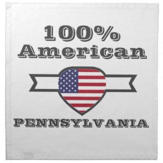 100% American, Pennsylvania Napkin