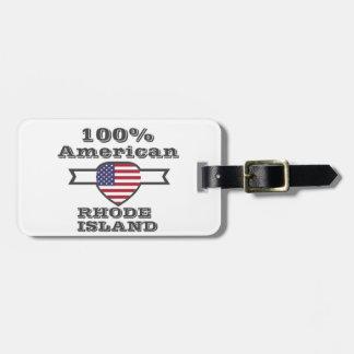 100% American, Rhode Island Bag Tag