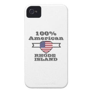 100% American, Rhode Island iPhone 4 Cover