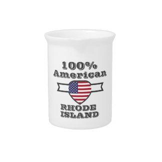 100% American, Rhode Island Pitcher
