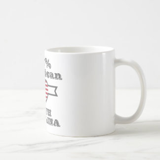 100% American, South Carolina Coffee Mug