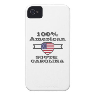 100% American, South Carolina iPhone 4 Case-Mate Cases