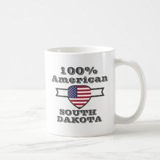 100% American, South Dakota Coffee Mug