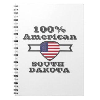 100% American, South Dakota Notebooks