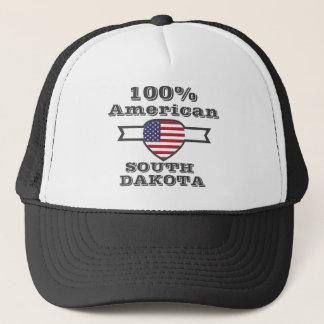 100% American, South Dakota Trucker Hat