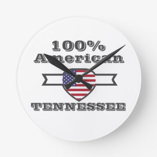 100% American, Tennessee Round Clock