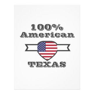 100% American, Texas Letterhead