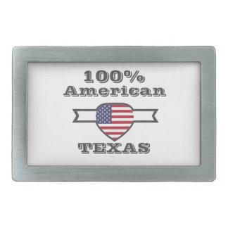 100% American, Texas Rectangular Belt Buckles