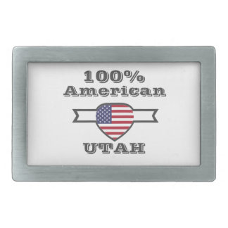 100% American, Utah Belt Buckles
