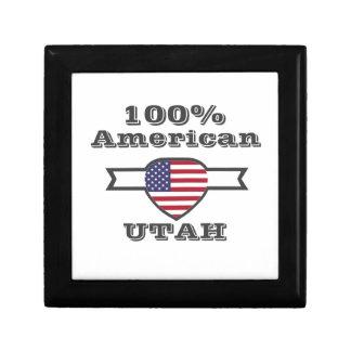 100% American, Utah Keepsake Box