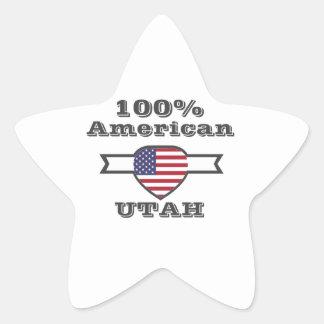 100% American, Utah Star Sticker