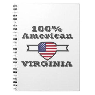 100% American, Virginia Notebook