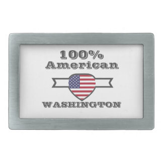 100% American, Washington Belt Buckle