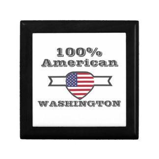 100% American, Washington Gift Box
