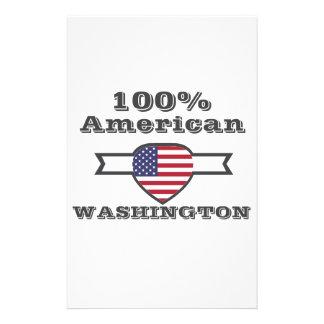 100% American, Washington Stationery