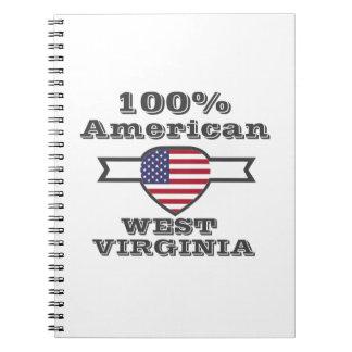 100% American, West Virginia Notebook