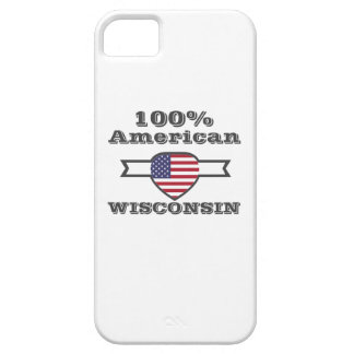 100% American, Wisconsin iPhone 5 Case