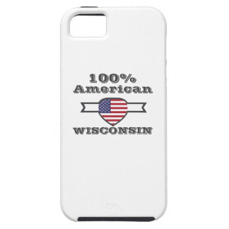 100% American, Wisconsin iPhone 5 Cases