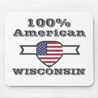 100% American, Wisconsin Mouse Pad