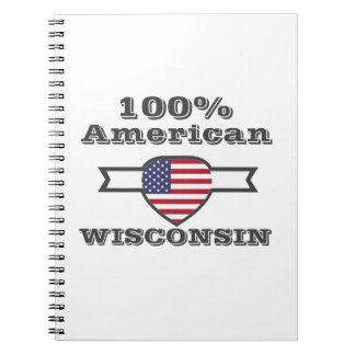 100% American, Wisconsin Notebook
