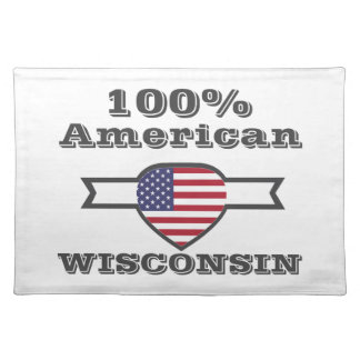 100% American, Wisconsin Placemat
