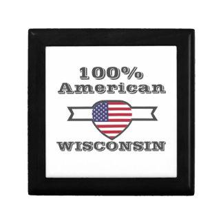 100% American, Wisconsin Trinket Boxes