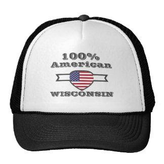 100% American, Wisconsin Trucker Hat