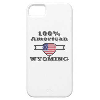 100% American, Wyoming iPhone 5 Case