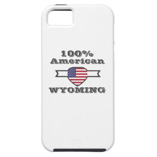 100% American, Wyoming iPhone 5 Cover