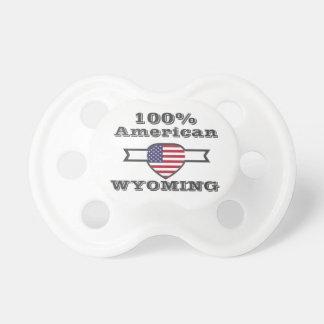 100% American, Wyoming Pacifier
