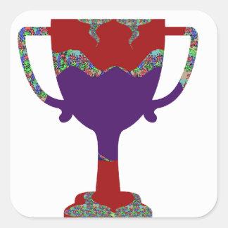 100 Award Reward Encourage Inspire Square Sticker