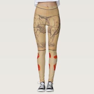 100% beef leggings