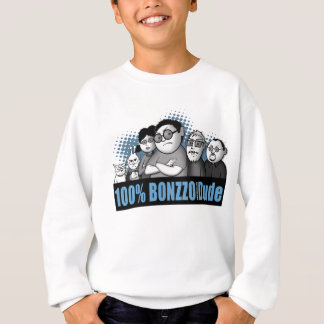 """100% BONZZO Dude"" Design by John Rivas Sweatshirt"