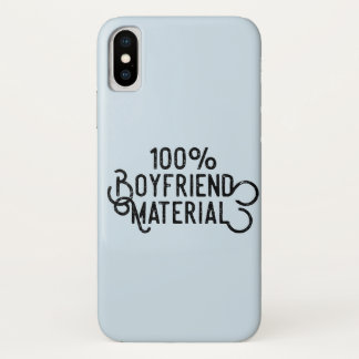 100% Boyfriend Material Case-Mate iPhone Case